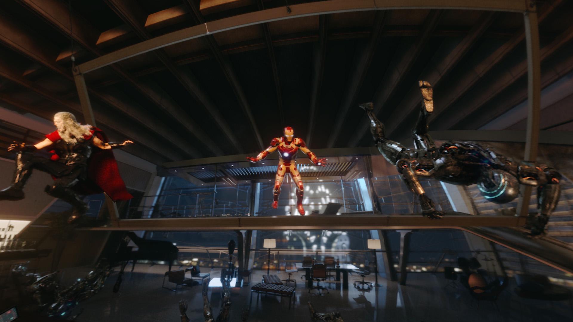 Battle for Avengers Tower 360°
