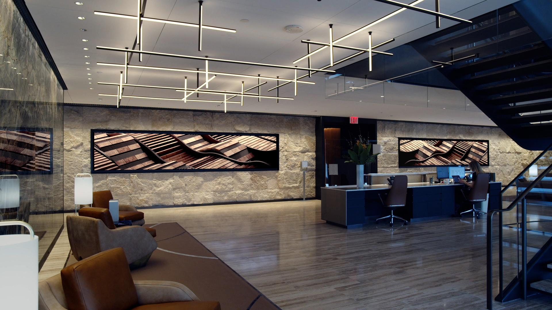 Lobby Screens – 30 Hudson Yards